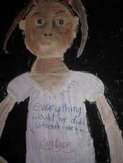 Candace's self-portrait
