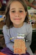 Exemplary results-elementary school girl