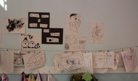 Parker River PRe-school -Kids' artwork