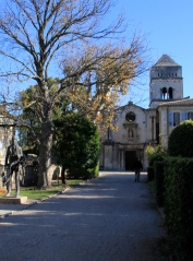 Approach to St. Paul de Mausole