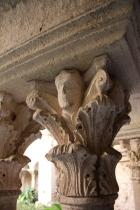 Column detail at St. Paul de Mausole