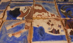 Fresco made at Charles River School