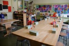 Waynflete School: Lower Grades Art Studio